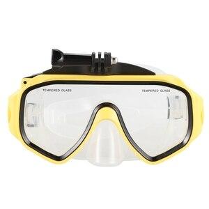 Montura de máscara de buceo gafas de natación subacuáticas con tornillo desmontable para GoPro Hero/DJI Osmo accesorios de Cámara de Acción