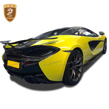 For Mclaren 570s carbon fiber rear wing for 570GT trunk boot 540 spoiler tail Novitec style