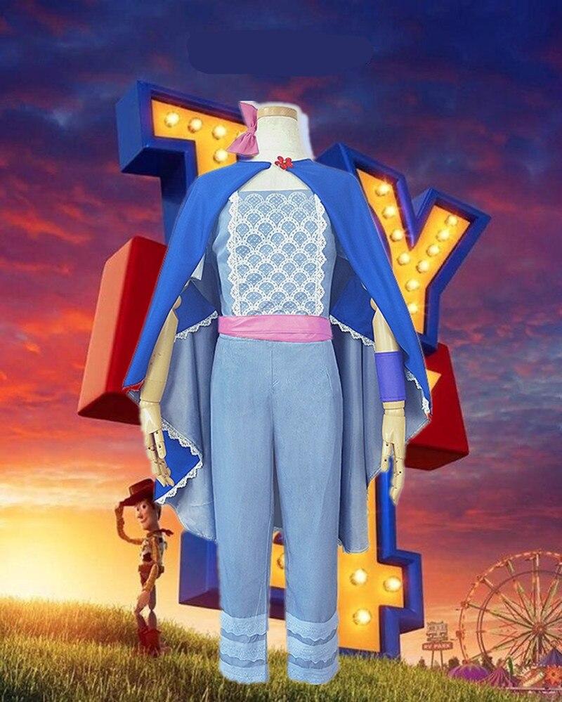 Toy Story 4 deguisement Bo Peep Cosplay deguisement film animé chaud tenue de haute qualité deguisement boisé deguisement Halloween