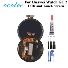 """ocolor For Huawei Watch GT 2 LTN B19, DAN B19 LCD And Touch Screen 1.39"""" Digitizer Assembly Replacement For Huawei Watch GT 2"""