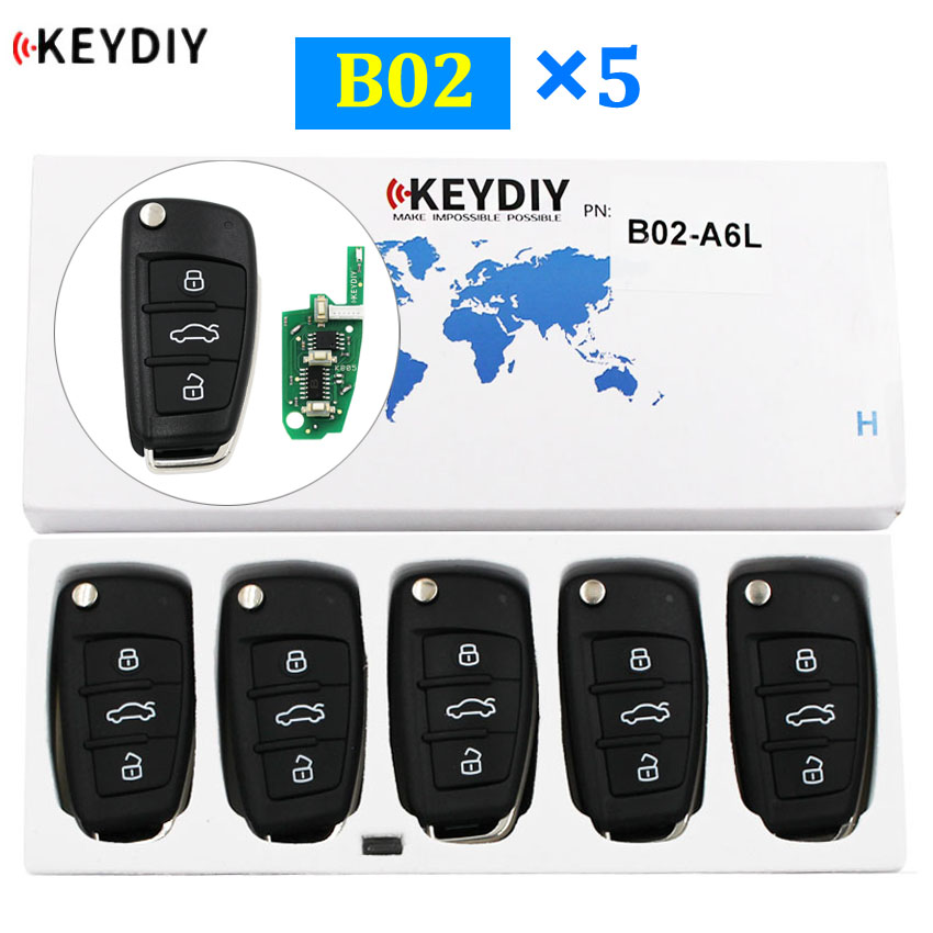 B05-3+1 KD900 URG200 Remote Control 3+1 Button Key TY for Toyota Style