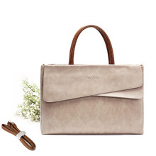 Korean Style Women 15.6 Inch Laptop Handbag Fashion OL Briefcase Shoulder Messenger Bag For Macbook Air Pro 11 12 13 15 Retina