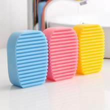 Scrubbing-Brush Wash-Board Laundry Mini Handheld Non-Slip Small 1pc Cleaning-Tool Candy-Color