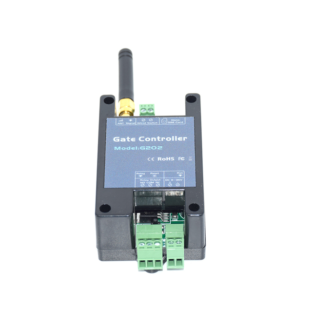 GSM Remote Control gate opener G202 single relay switch for sliding swing garage Gate Opener ( replace RTU5024 G200 )