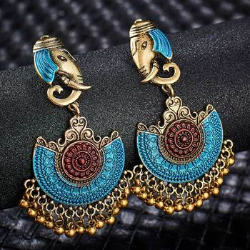 Fashion Metal Dangle Earrings Earrings Jewelry Women Jewelry Metal Color: S01127