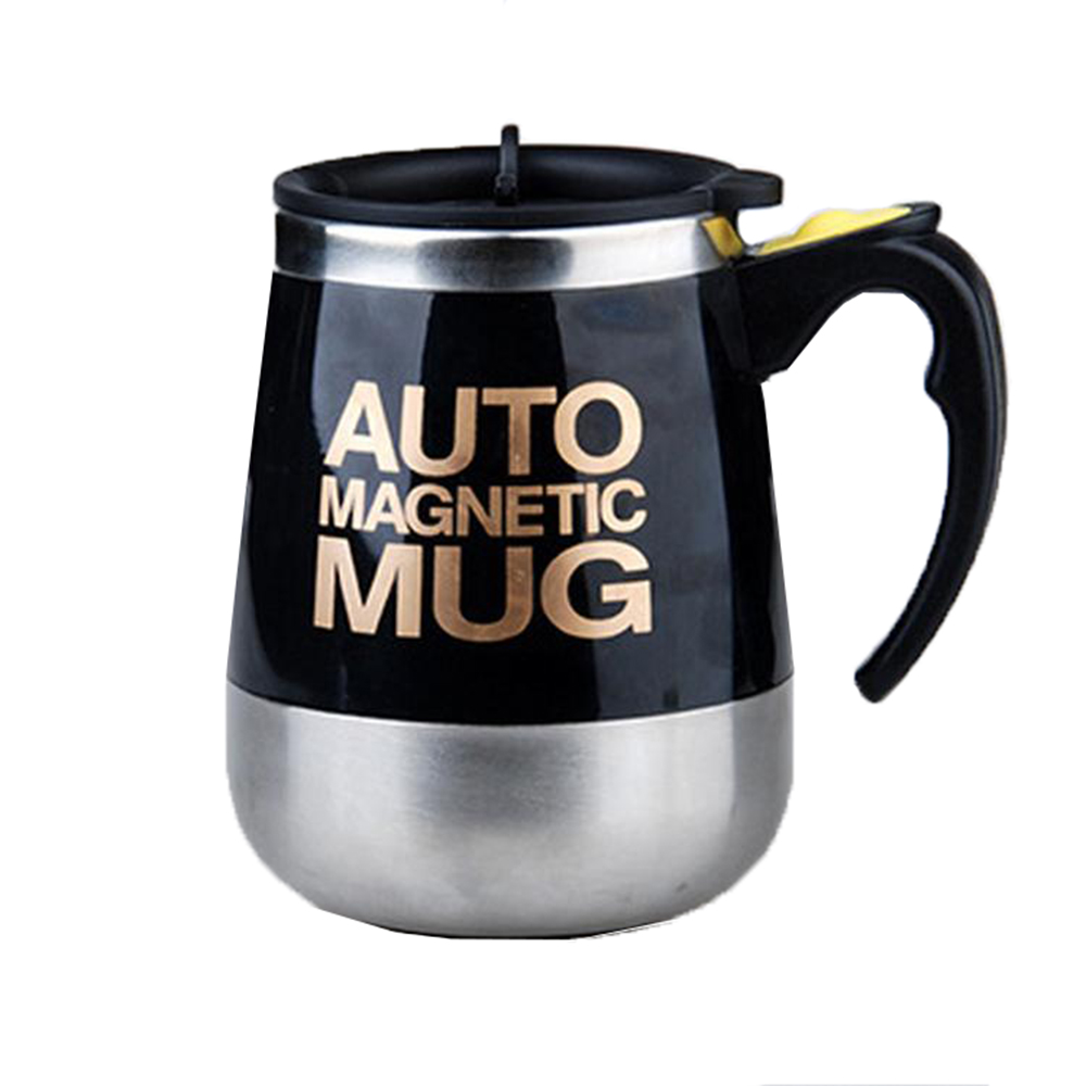 Self Stirring Mug Auto Mixing Stainless Steel Cup for Bulletproof/Keto Coffee/Tea/Hot Chocolate/Milk/Cocoa Protein Shaker Mug