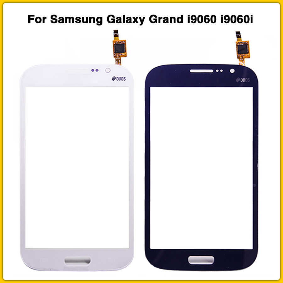 Neue LCD Front Glas Für Samsung Galaxy Grand Neo i9060 i9060i GT-i9060 DOUS Touchscreen Panel TouchScreen Digitizer