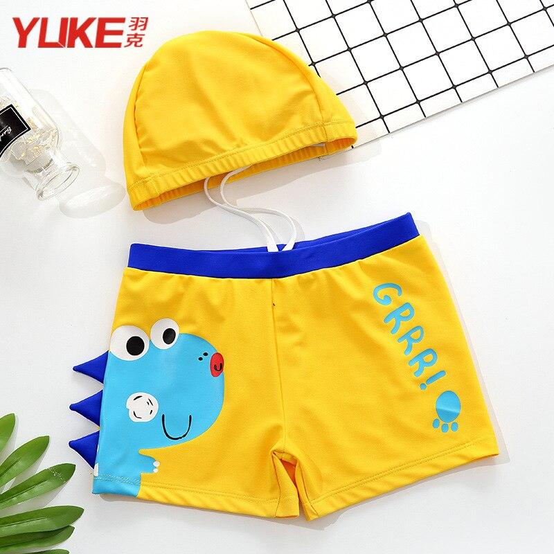 CHILDREN'S Swimming Trunks BOY'S Boxer Swimwear Tour Bathing Suit Hooded Baby Swimwear Boy Two-piece Swimsuits Big Boy Swimwear