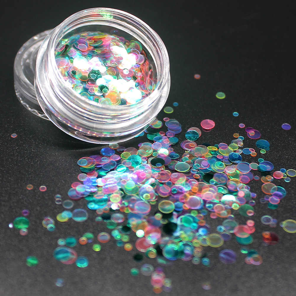1Pcs Shiny เลื่อมอะคริลิคเล็บชุดเล็บชุดเล็บ Glitter ตกแต่งผงปากกาอะคริลิคแปรงเล็บ Art ชุดเครื่องมือ