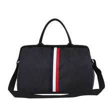 Women Travel Bag Weekend Sports Fitness Bags Men/Women Handbags Crossbody Bag Unisex Shoulder Bags Stripe Beach Bag LGX106
