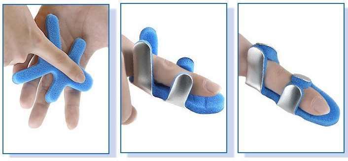 3 kích thước Có Thể Điều Chỉnh Y Tế Hợp Kim Nẹp Ngón Tay Gỗ Dán Khớp Trang Bị Thiết Bị Tập Phục Hồi Chức Năng Ngón Tay Orthosis Tay Chỉnh Hình