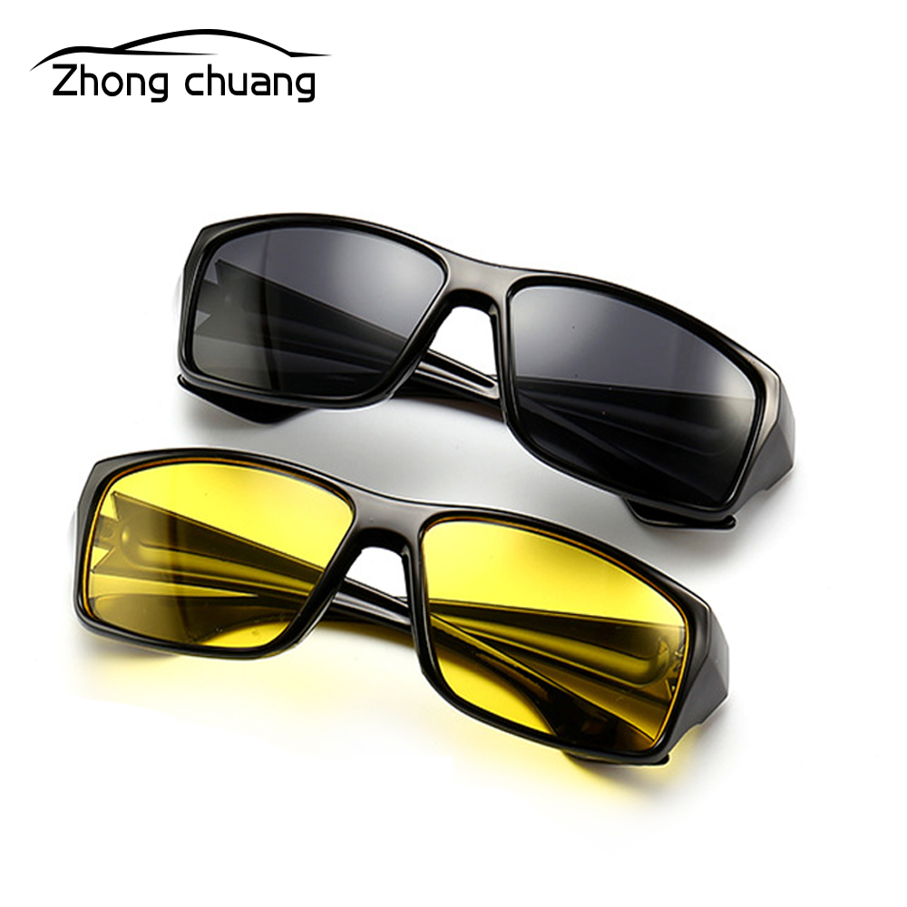 Unisex Polarized Sunglasses Glasses Driver Night Driving Mirror Riding Glasses HD Vision Sunglasses UV Sunglasses Sunglasses