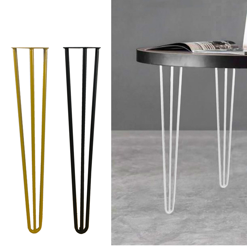 4pcs Table Leg Furniture Cabinet Gold Metal Long Legs Simple Table Desk Support Leg Tea/bar Table Stand Holder Custom Height