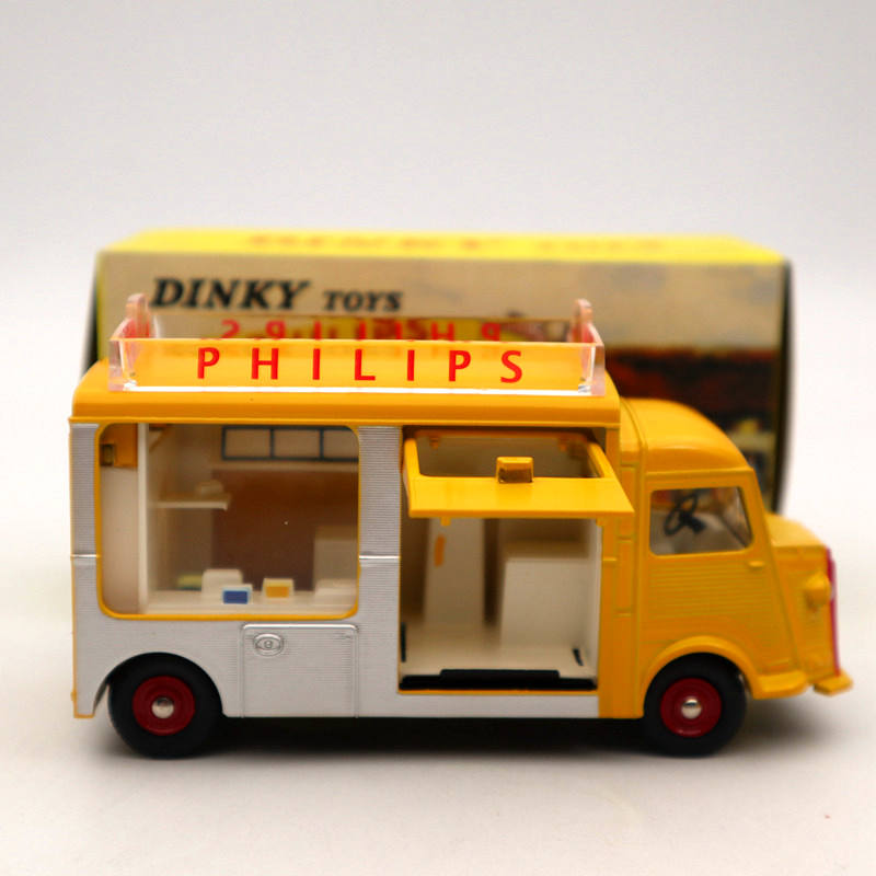 Atlas 1:43 DINKY TOYS 587 Camionnette CITROEN Diecast Models Collection Auto Car Yellow