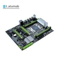 X99 Desktop Motherboard LGA 2011 3 LGA2011 3 with Dual M.2 NVME Slot Support Four Channels DDR4 ECC SATA 3.0 USB 3.0