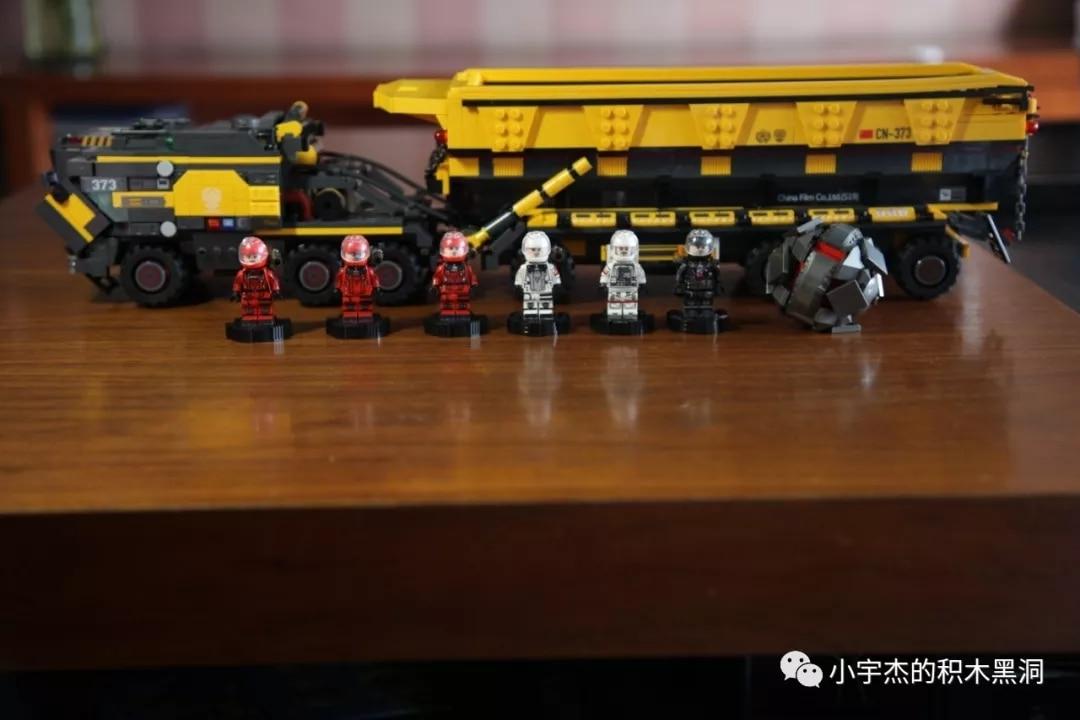 IN STOCK 107006 1535pcs creator Technic Movie series Cargotruck-Iron OreTruckl Building Blocks Brick Kids Toys Christmas Gift 5