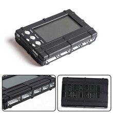 Novo 3 em 1 lcd rc bateria descarregador balancer medidor tester para 2-6s lipo li-fe bateria medidor de tensão