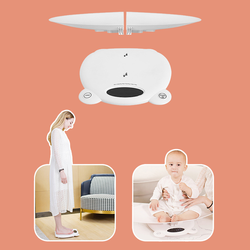 Electronic Baby Scale Weight Measure LCD Screen Digital Scale For Newborn Infant Accurate Pets Infant Baby Weight Scale