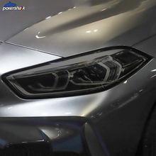 Film de Protection noir pour phares de voiture, 2 pièces, Film Transparent, pour BMW série 1 F40, M135i 118, accessoires