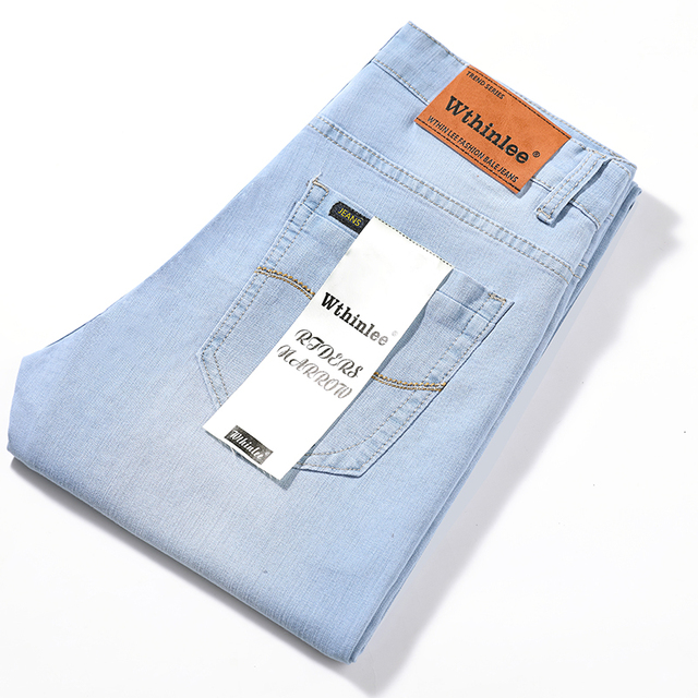 Casual Men's High Quality Straight Jeans