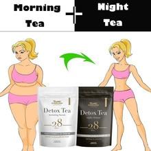28 gün detoks çayı akşam sabah yanan yağ kolon temizlemek düz göbek doğal denge hızlandırılmış Slim kilo kaybı ürünleri