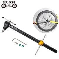 Muqzi bicicletas desviador gancho alinhamento calibre variando ferramenta para mtb e bicicletas de estrada dobrável engrenagem fixa|Ferramentas p/ reparo de bicicletas| |  -