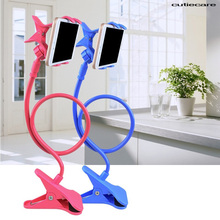 Flexible Holder Phone Long Arm Lazy Gooseneck Stand Support Smartphone