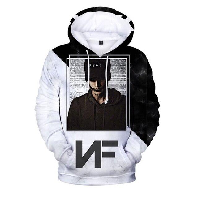 NF 3D Men Long Sleeve Sweetshirt Hoodie  1