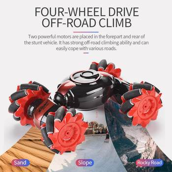 Stunt Gesture Remote Control twisted RC Car Off-Road Vehicle Drift Light Music Drift Dancing Double Side Driving Stunt Car gesto фото