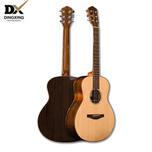 Acoustic guitar All Solid Wood Spruce 36 inch Baby travel China guitarra Professional musical Stringed instruments steel strings high quality 39 acoustic classical guitar wood color guitarra musical instruments with guitar strings