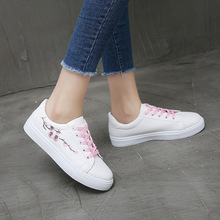 New 2019 Spring Summer Women Canvas Shoes Flat Sneakers