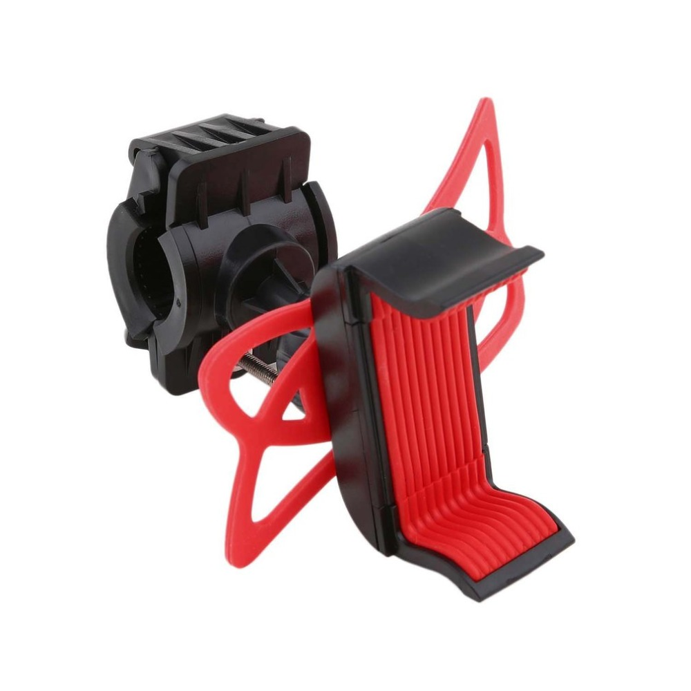 Universal Silicone Bicycle Motorcycle Mobile Phone Holder Bike Mount phone Holder for Cellphone GPS Handlebar Bracket Stand