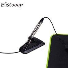Soporte de cuerda elástica para ratón Flexible, organizador de cables, fijador de línea de cortapelos, apto para ratón con Cable