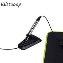 Souris Flexible élastique support de cordon fil câble organisateur Clipper ligne fixateur adapté pour souris filaire