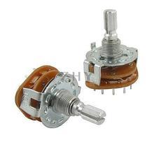 Распределенный вал AC 125V 0.3A 250V 0.6A 4 полюса 3 положения поворотный переключатель(мешок 2
