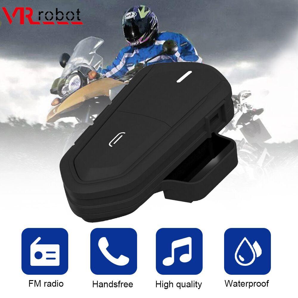 VR Robot Helmet Bluetooth Headset Waterproof Wireless Motorcycle Headset FM Handsfree Moto Helmet Headphones Stereo Music Player