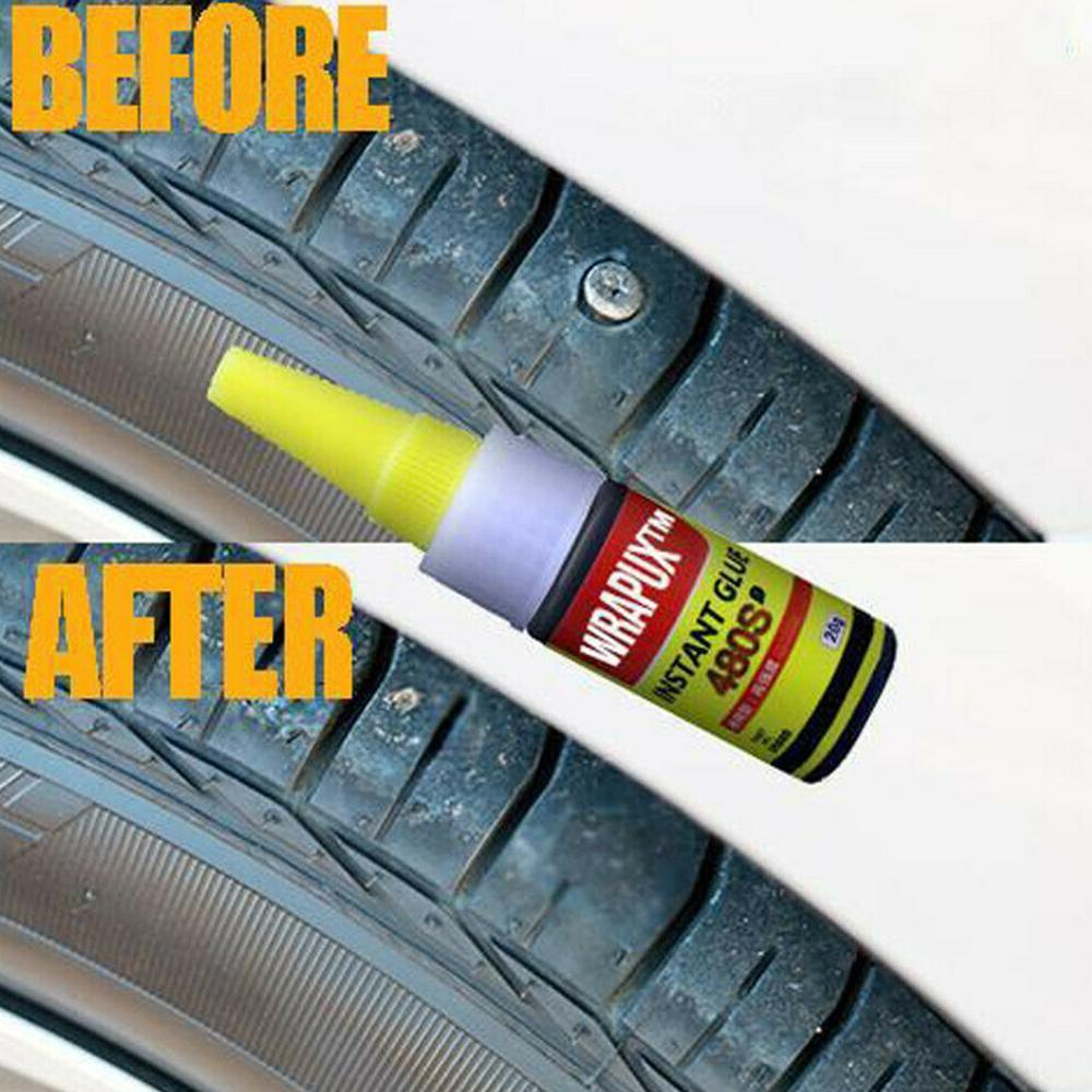 1pcs 20ML Bicycle Tire Repair Road Mountain Bike Tyre Inner Tube Puncture Repair Rubber Cement Cold Glue Bike Tire Patch