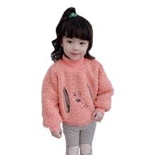 Осенние детские свитшоты для маленьких девочек и мальчиков толстовки с принтом собаки Повседневная Блузка для малышей Верхняя одежда с длинными рукавами