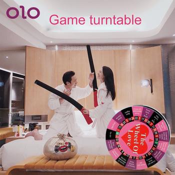 OLO Funny gra wstępna prezent gra erotyczna zestaw stołowy dla par flirtowanie zabawki Sex zabawki dla pary zabawa karuzela tanie i dobre opinie CN (pochodzenie) Adult Games as picture Plastic 22003