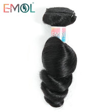 Wholesale Hair Bundles Indian Hair Loose Wave Bundles 100% Human Hair Natural Black 3/4 Bundles Length from 8-28Inches Free Ship