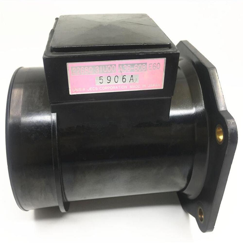 1pc Ιαπωνία Μετρητές ροής αέρα 22680-31U00 2268031U00 22680-31U05 Αυτόματοι αισθητήρες Fit για ανταλλακτικά μεταχειρισμένων ανταλλακτικών Nissan Cefiro