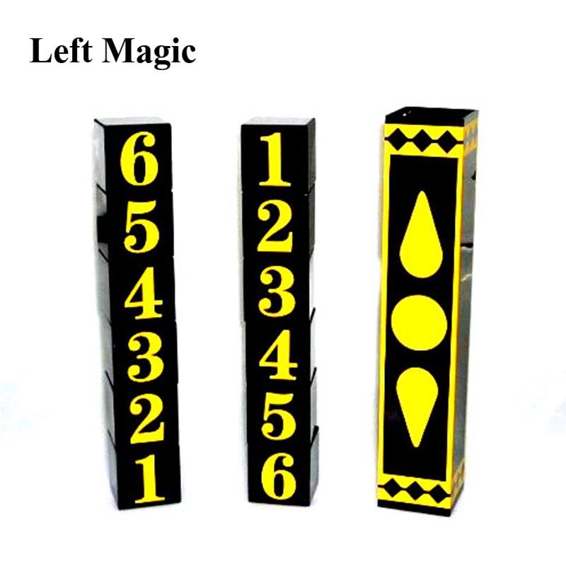 Cuba A Libre (PVC version) Magic Tricks Magician Block/Dice Exchange Magie Stage Illusions Gimmick Props Comedy Mentalism