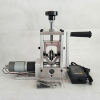 Máquina de descascamento de cabo de fio waste 3 em 1 diy manual/motorista de broca/motor de acionamento de fio de cabo de descascador de diâmetro 0 30mm y|Peças de ferramentas| |  -