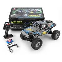 WLtoys 104310 2.4G 1/10 4WD Double Bridge Crawler 15km/h Racing Car 40 Minis Using With Transmitter Charger RC Off road Car Toy