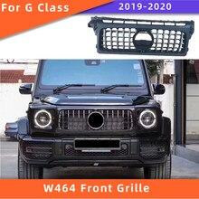 W463a gt grade dianteira apropriada para mercedes benz w464 2019-2020g classe g500 g550 g63 abs amortecedor dianteiro grill