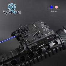 Wadsn airsoft mini DBAL-A2 azul ir visando a caça a laser DBAL-A2 arma luz peq visão a laser com qd montagem caber 20mm picatinny