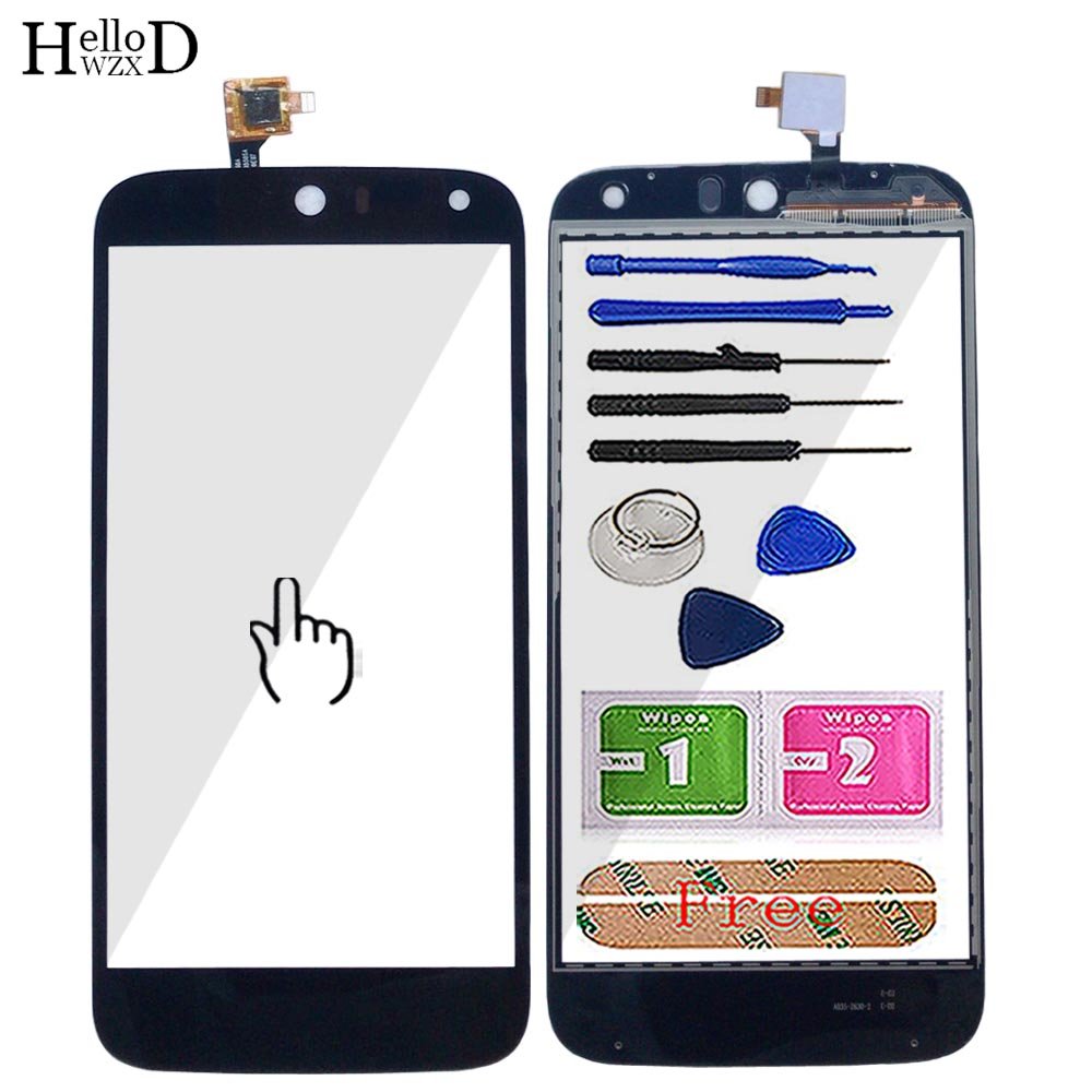 Mobile Touch Screen For Acer Liquid Z630 Touch Screen Digitizer Panel Front Glass TouchScreen Lens Sensor Parts Tools 3M Glue