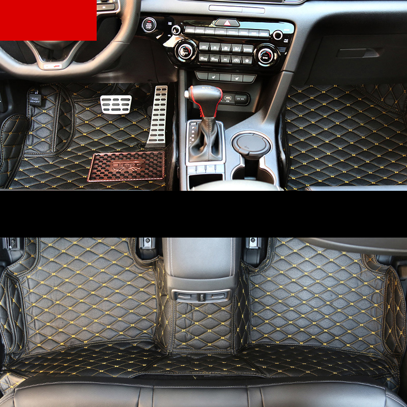 Lsrtw2017 Car Styling Accessories Floor Mats For Kia Rio 3 Cerato Niro Kona Sportage 4 Soul Sorento K5 2018 2019 2002-2020 4