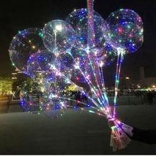 Ballons Bobo transparents gonflables à hélium, 20 pièces, 5/10 pouces, décorations d'anniversaire et de mariage