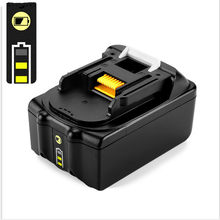 18V 6000mAh Power Tool Battery Packs for Makita BL1860 BL1850 bl1830 Replacement Battery 194230-4 LXT400 with led light(China)